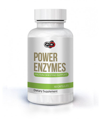 PURE NUTRITION - POWER ENZYMES - 60 КАПС