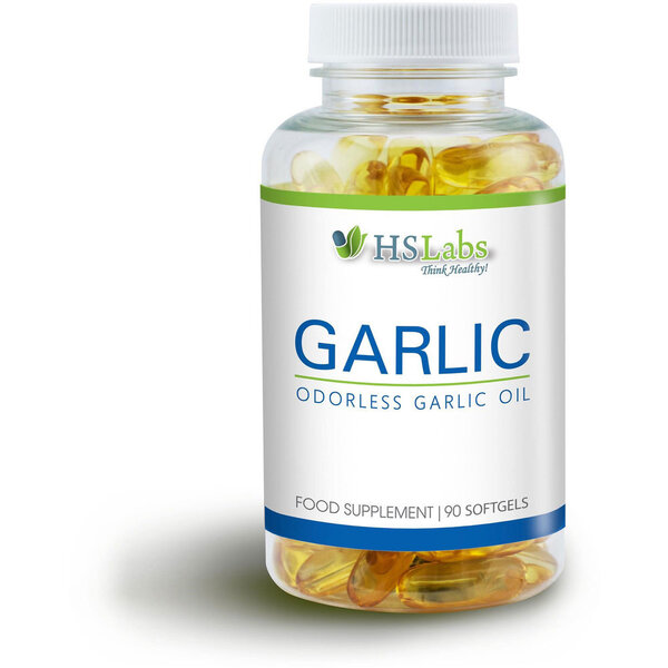 HS LABS - GARLIC - 90 капсули