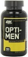 OPTIMUM NUTRITION OPTI MEN МУЛТИВИТАМИНИ 180 TАБЛ