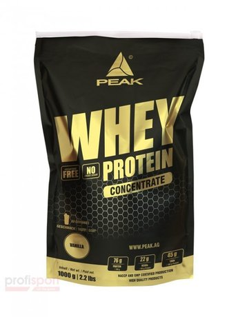 PEAK WHEY CONCENTRATE 1000 ГР