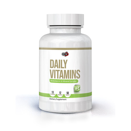 PURE NUTRITION - DAILY VITAMINS - 50 ТАБЛЕТКИ