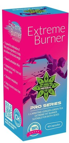 ФЕТ БЪРНЪР CVETITA HERBAL EXTREME BURNER 40 КАПС