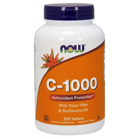 NOW - VITAMIN C - 1000 - 250 CAPS