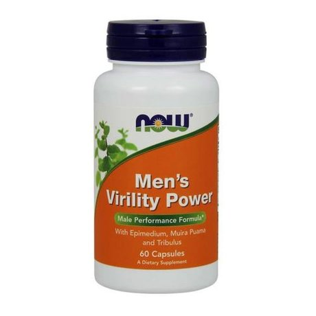 NOW - MENS VIRILITY POWER - 60 КАПСУЛИ
