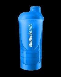 "BIOTECH USA Shaker Wave+ 600ml ""Shocking Blue"""