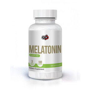 PURE NUTRITION MELATONIN 3 МГ 100 КАПС
