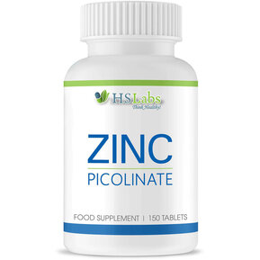 HS LABS - ZINC PICOLINATE 15 mg - 150 tabs