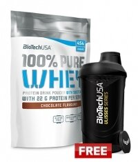 PROMO Biotech USA Whey Protein + Wave Shaker