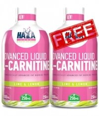 PROMO 1+1 Haya Labs Advanced Liquid l - Carnitine