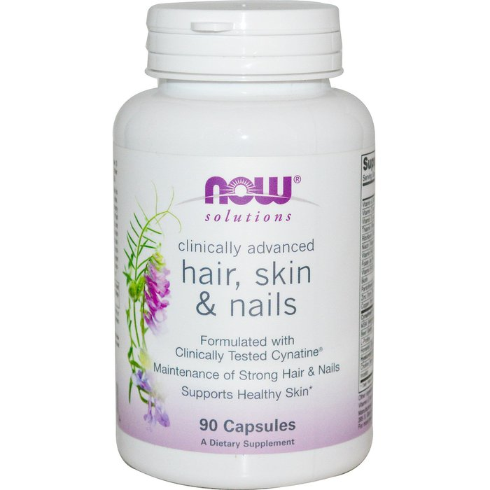 NOW - HAIR, SKIN & NAILS 90 - КАПСУЛИ